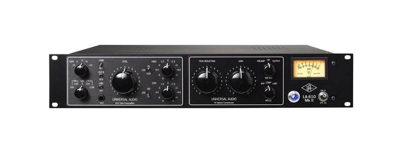 Universal-Audio-MKII-610-Tube-Amplifier_-T4-Optical-Compressor_r-min
