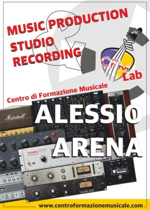 Music production studio recording
